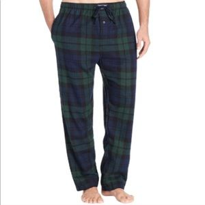 Polo Green and Blue Plaid PJ pants size small